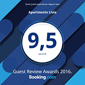 Booking.com Award Winner 2015